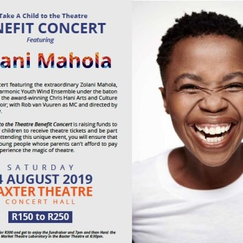 Take A Child to the theatre - Benefit Concert featuring Zolani Mahola